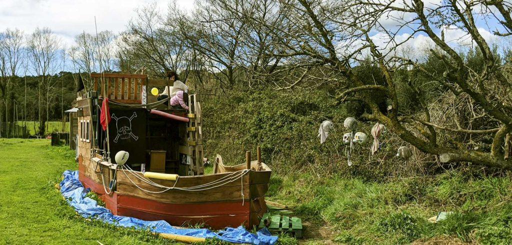 Vaixell pirata Montseny aventura
